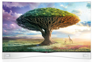 LG Electronics 55EA9800 Cinema 3D 1080p Curved OLED TV with Smart TV