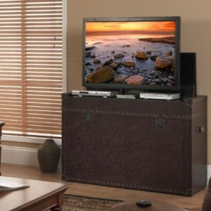 Alternative to TV Wall Mounts: TV Lift Cabinets